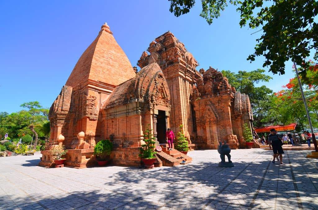 Visiting beautiful Po Nagar Cham Temple