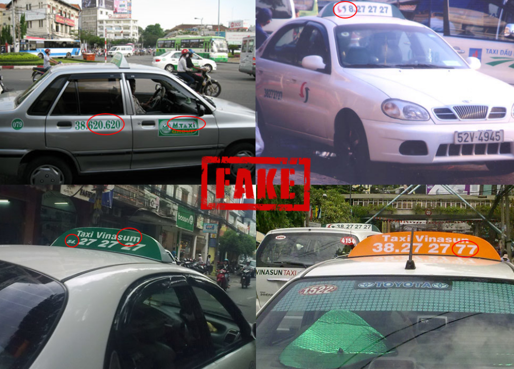 Fake taxis