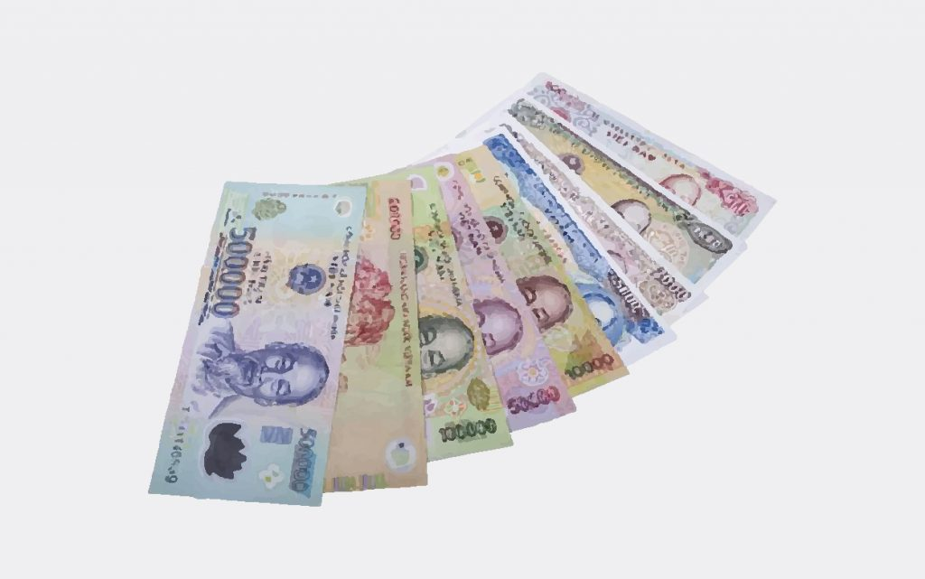 The currency of Vietnam