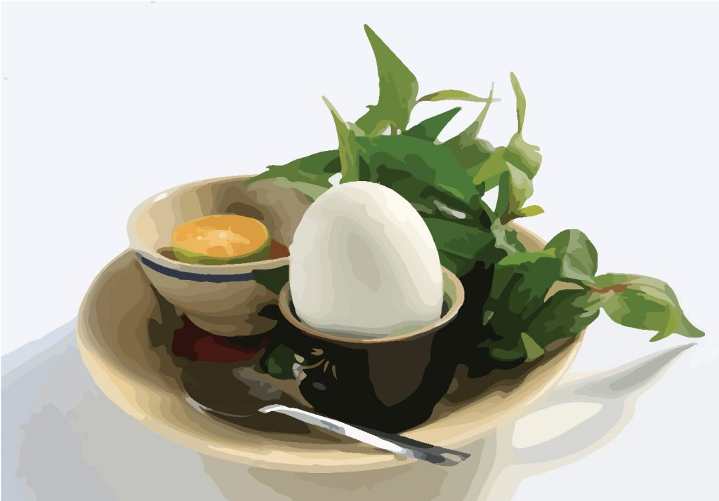Eating one balut is believed to reverse misfortune.
