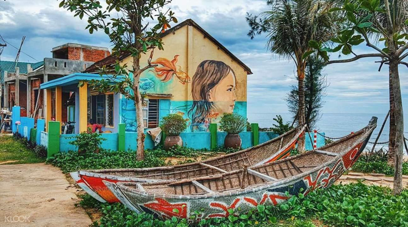 9. Tam Thanh Mural Village in Hoi An