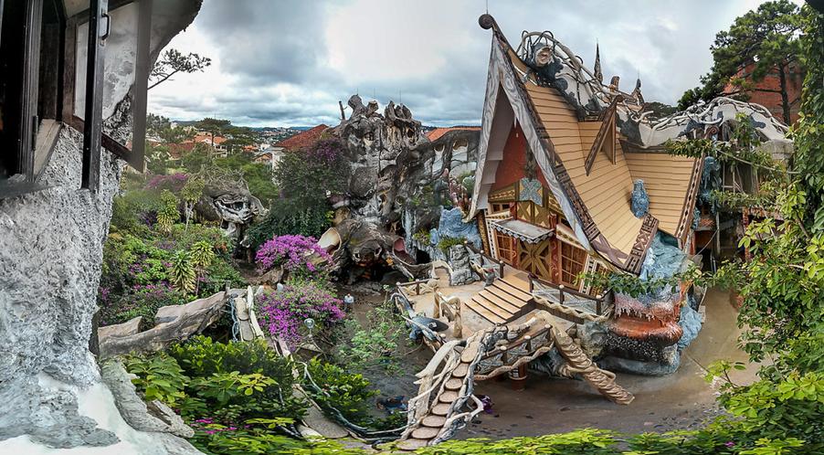 Crazy House (Hang Nga Villa) – Da Lat