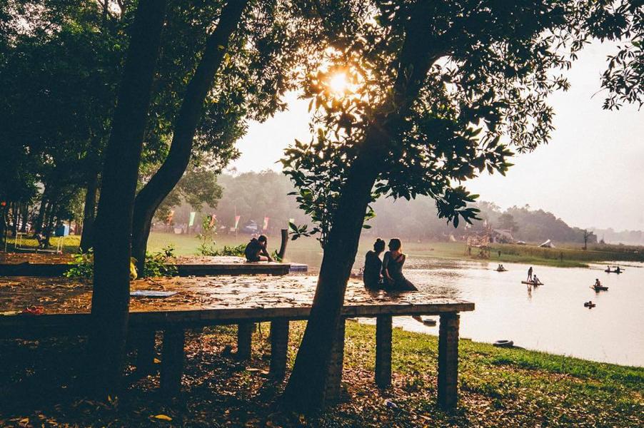 Dong Mo Lake, Son Tinh Campsite – Hanoi
