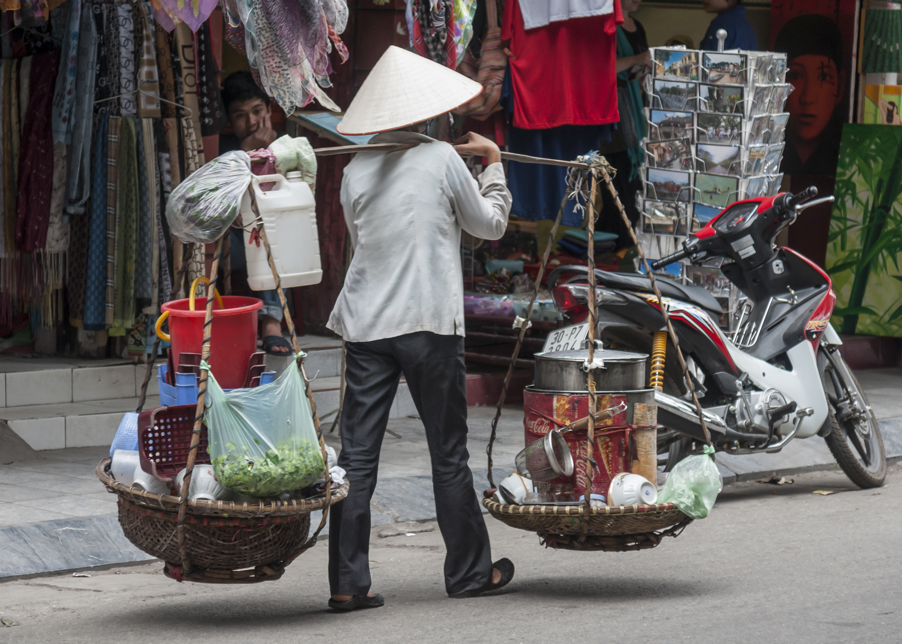 Vendors in Vietnam