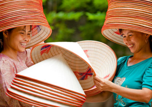 Conical Hat Making Chuong Village