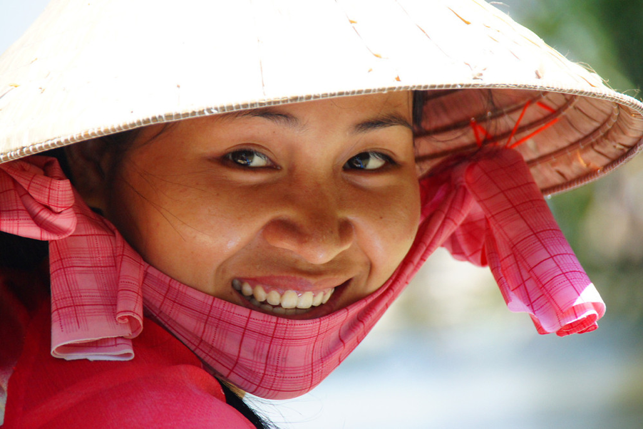 Vietnam traditional hat